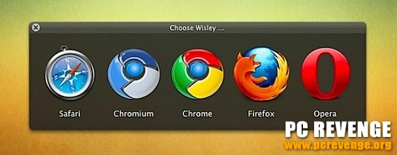 Choose Wisley per Mac vi fa scegliere il browser preferito