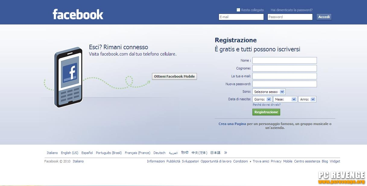 Come i lamers rubano le password di Facebook