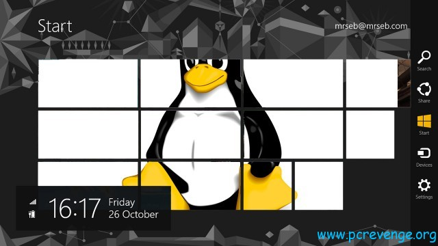 Linux passa al controllo di UEFI su Windows 8