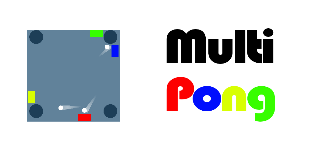 MultiPong: pong a 4 giocatori per Android