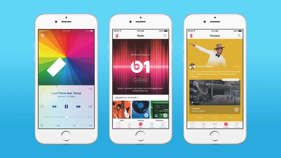 Svelate le funzionalità di Apple Music: la nuova app musicale di Apple