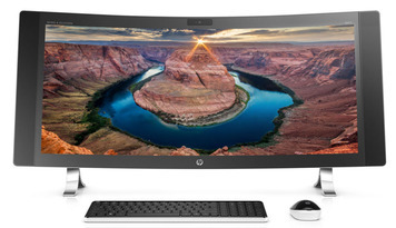 Envy Curved: il nuovo PC All-in-One con schermo curvo di HP