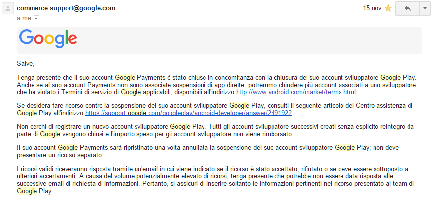 google wallet verification mail